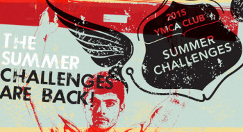 Gym challenges at YMCA CLub