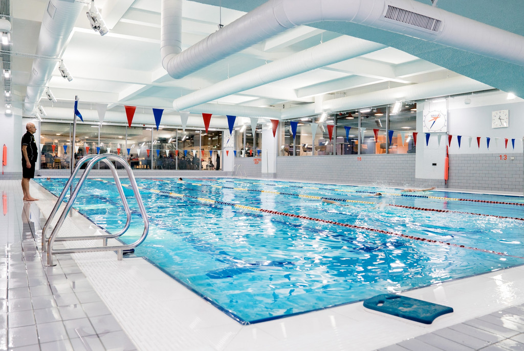 Swimming pool at YMCA Club Central London