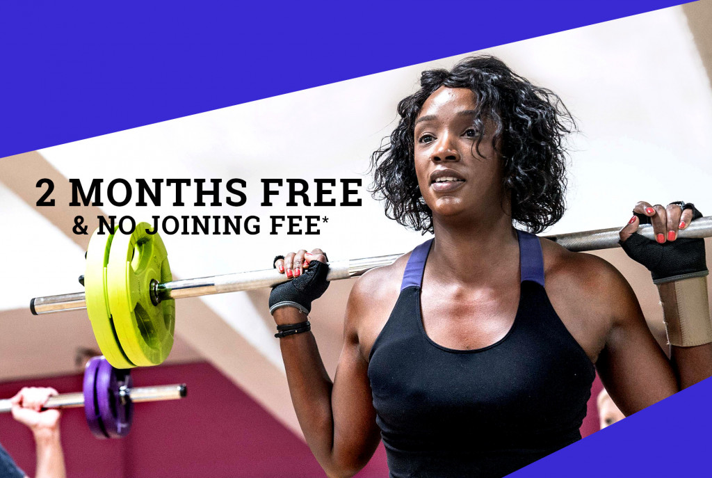 January Gym Membership Offer - 2 months free and no joining fee