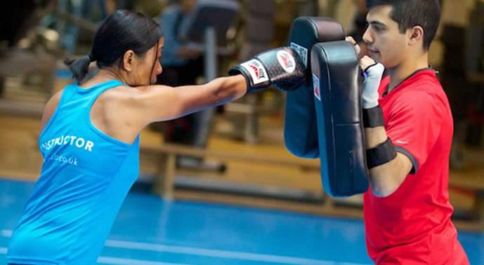 boxing technique class