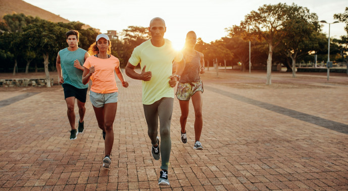 Get ready to hit the outdoors with our run club!